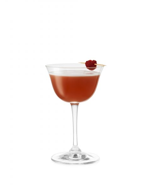 French martini vodka raspberry liqueur pineapple drink photographer fotograf drinkov london bratislava on white cutout