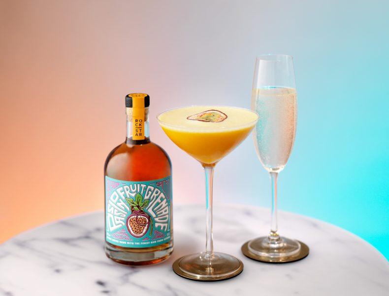 rockstar rum martini pornstar fotografia drink fotograf bratislava london studio marble prosecco passionfruit bubbles