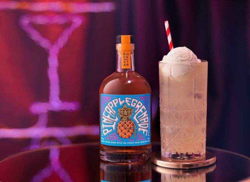 rockstar-rum-pineapple-grenade-with-lemonade-vanilla-ice-cream-float