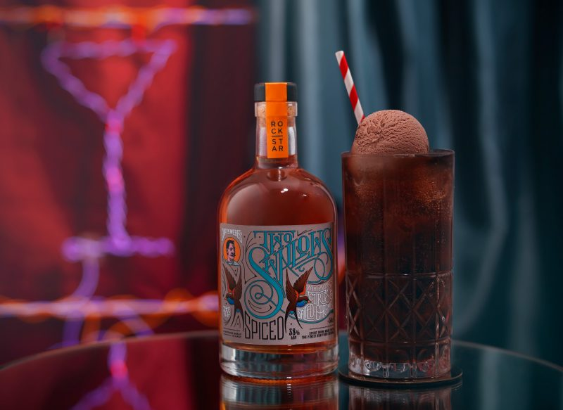 rockstar-rum-spiced-two-swallows-with-coke-ice-cream-float-chocolate fotograf drinkov bratislava london studio