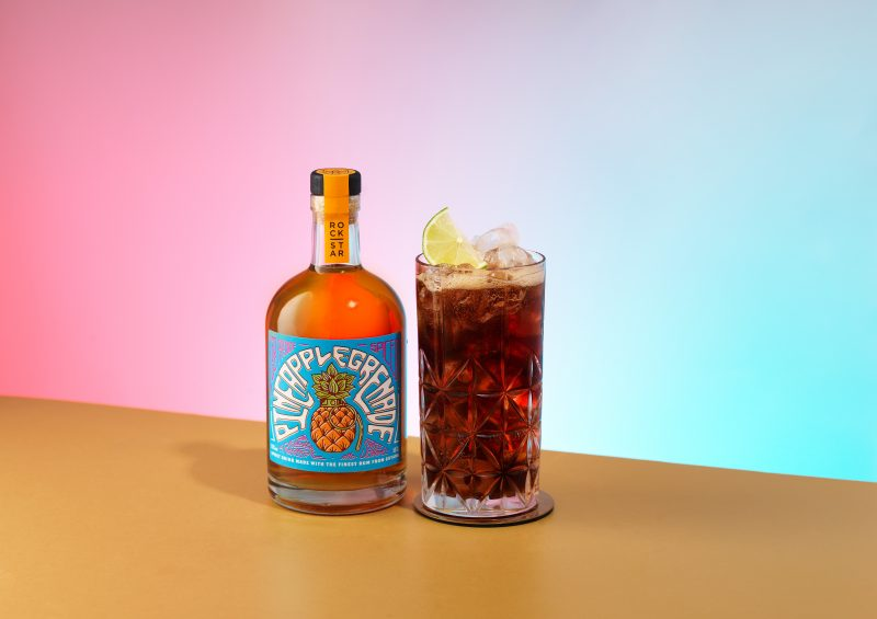 rum-coke-pineapple rockstar cubalibre rum s kolou drink photographer fotograf london bratislava