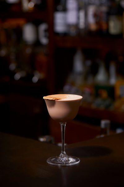 Tae Yeol Kim ogam tapas bar dark rum cocoa powder nutella cocktail two