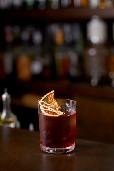Tae Yeol Kim ogam tapas bar ginseng gin campari negroni vermouth cocktail