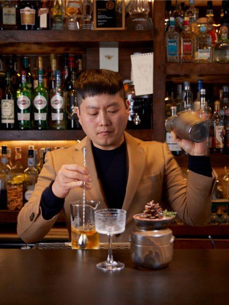 Tae Yeol Kim ogam tapas bar london cocktail