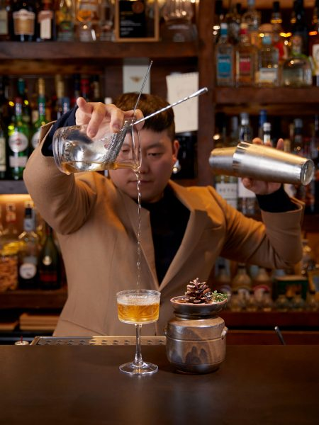 Tae Yeol Kim ogam tapas bar cocktail making london angel