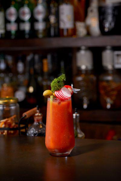 Tae Yeol Kim ogam tapas bar wasabi bloody mery cocktail grey goose vodka